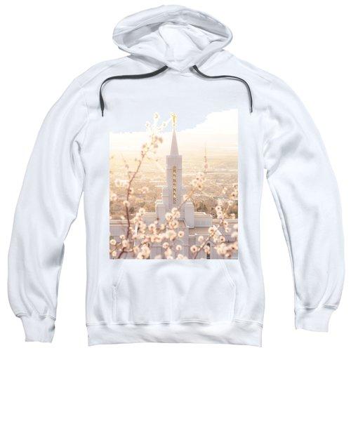 Bountiful Temple Blooms Sweatshirt