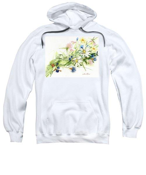 Bouquet Of Wildflowers Sweatshirt