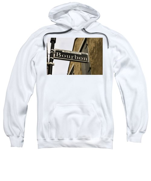 Bourbon Street, New Orleans, Louisiana Sweatshirt