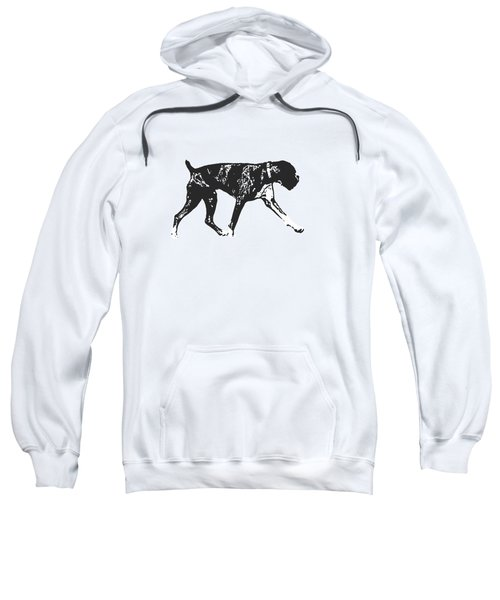 Boxer Dog Tee Sweatshirt