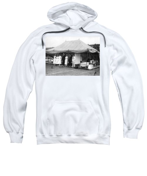 Boxing Match Field Hospital Sweatshirt