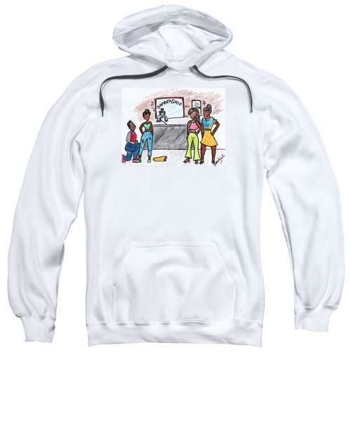 Boy Please Sweatshirt by Diamin Nicole