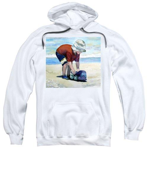 Boy With Truck Sweatshirt