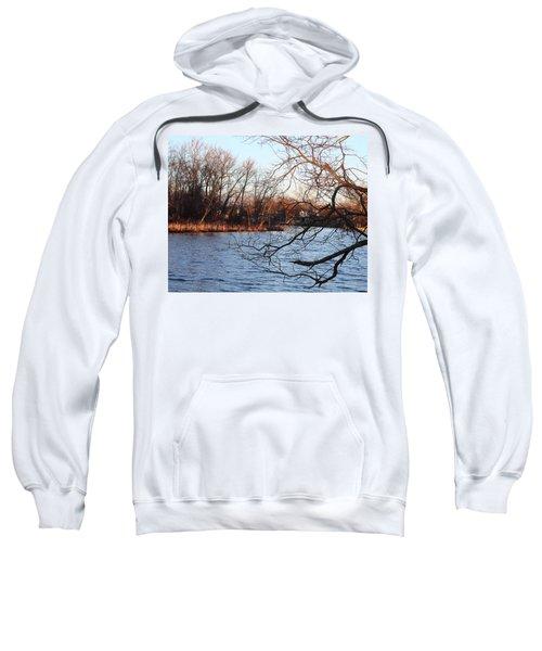 Branches Over Water Sweatshirt