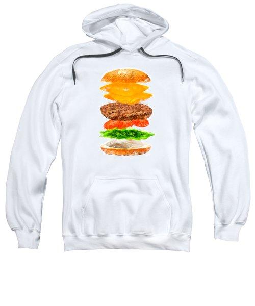 Brazilian Salad Cheeseburger Sweatshirt