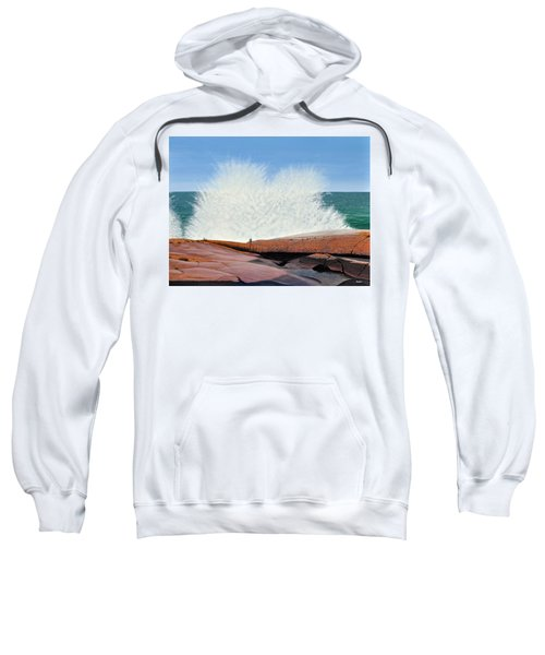 Breakers On Georgian Bay Sweatshirt