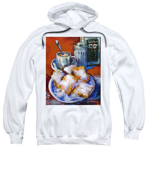 Breakfast At Cafe Du Monde Sweatshirt