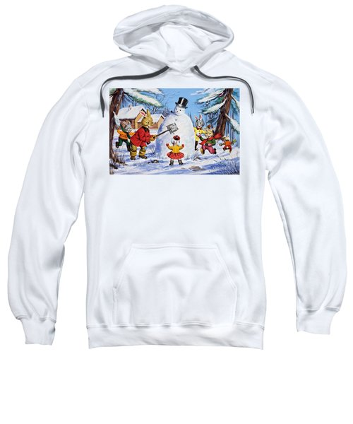 Brer Rabbit From Once Upon A Time Sweatshirt