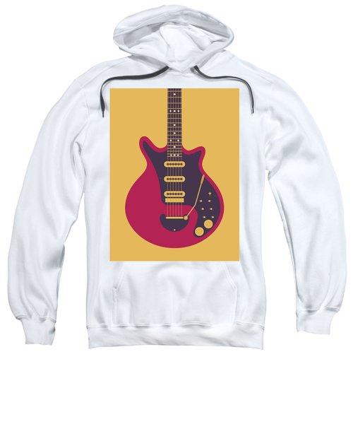 Red Special Guitar - Gold Sweatshirt