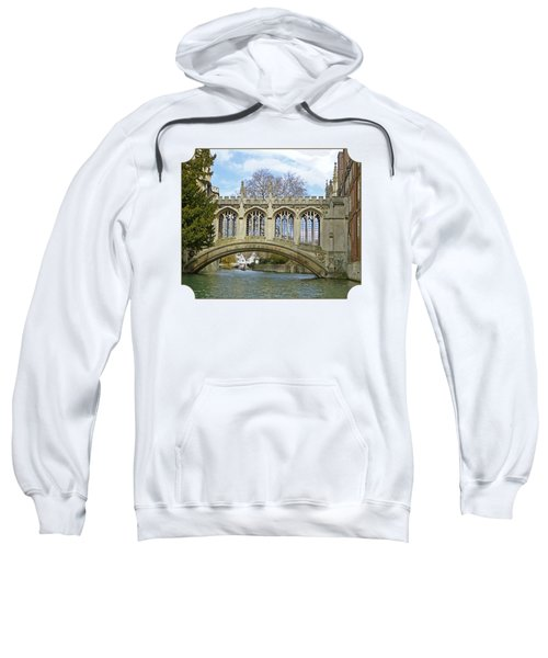 Bridge Of Sighs Cambridge Sweatshirt by Gill Billington