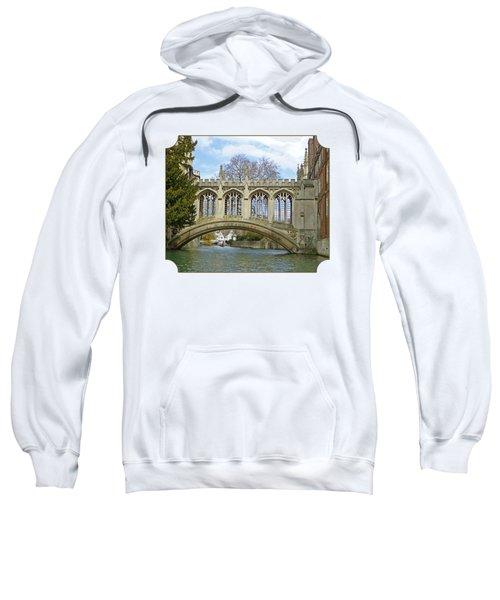 Bridge Of Sighs Cambridge Sweatshirt by Gill Billington