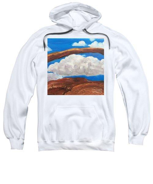 Bridge Over Clouds Sweatshirt