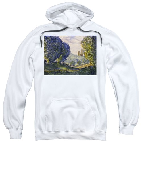 Bridlington Priory From Woldgate On The Hockney Trail Sweatshirt
