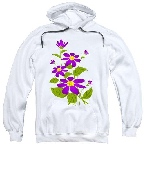 Bright Purple Sweatshirt
