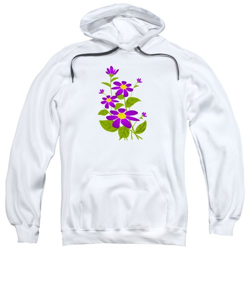 Bright Purple Sweatshirt