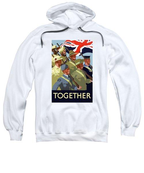 British Empire Soldiers Together Sweatshirt
