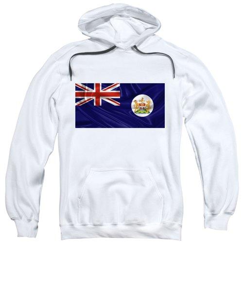 British Hong Kong Flag Sweatshirt by Serge Averbukh