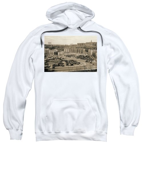 Broadway And Nagle Ave 1936 Sweatshirt by Cole Thompson