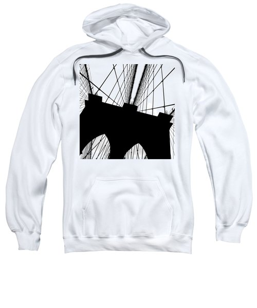 Brooklyn Bridge Architectural View Sweatshirt