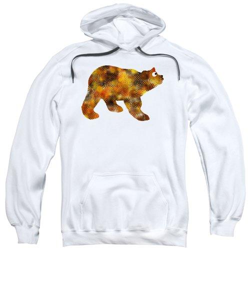 Brown Bear Silhouette Sweatshirt