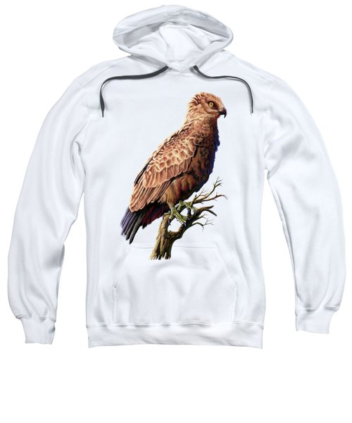 Brown Snake Eagle Sweatshirt