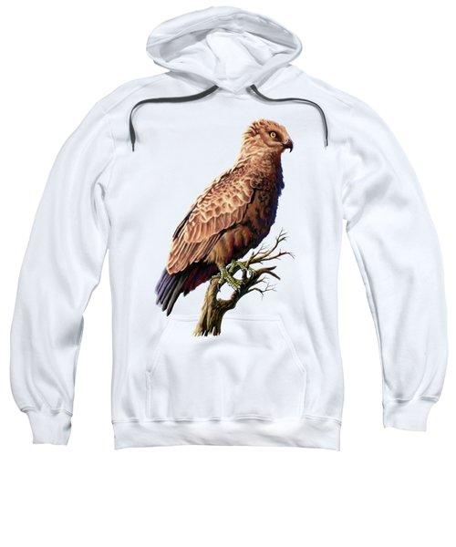 Brown Snake Eagle Sweatshirt
