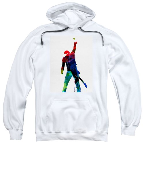 Bruce Watercolor Sweatshirt by Naxart Studio