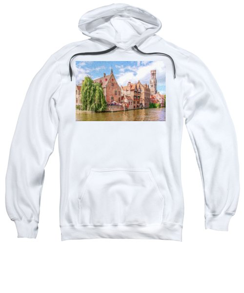 Bruges Canal Belgium Dwp-2611575 Sweatshirt