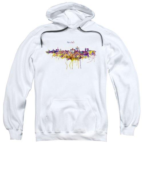 Brussels Skyline Silhouette Sweatshirt