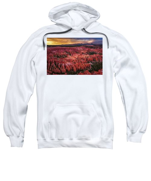 Bryce Canyon In The Glow Of Sunset Sweatshirt