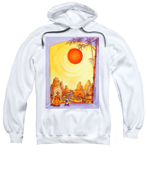 Buddha Meditation Sweatshirt