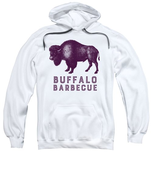 Buffalo Barbecue Sweatshirt by Antique Images
