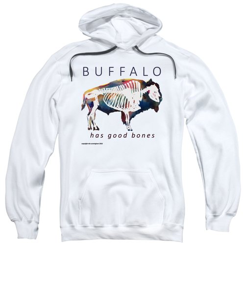 Buffalo Has Good Bones Sweatshirt by Marybeth Cunningham