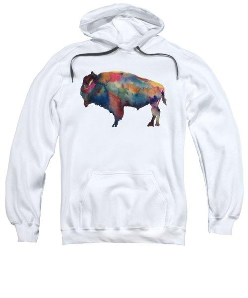 Buffalo Sweatshirt by Marybeth Cunningham