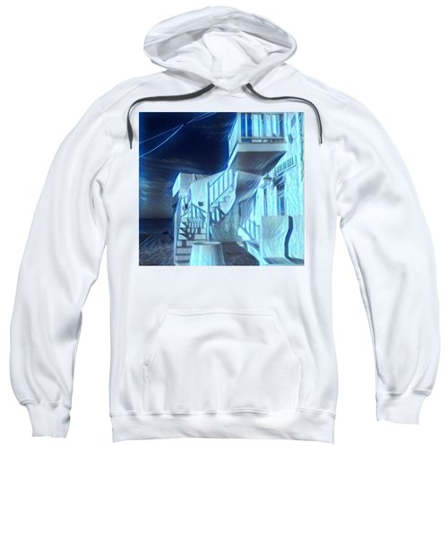 Building At Harbour  Sweatshirt