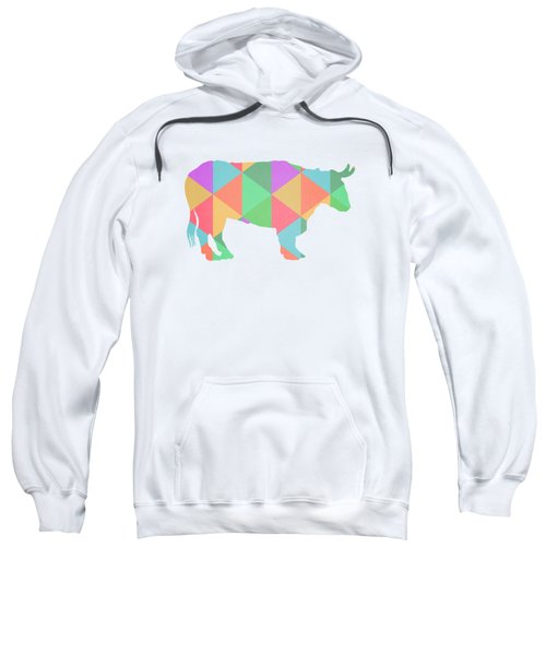 Bull Cow Triangles Sweatshirt