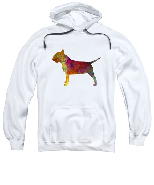 Bull Terrier In Watercolor Sweatshirt