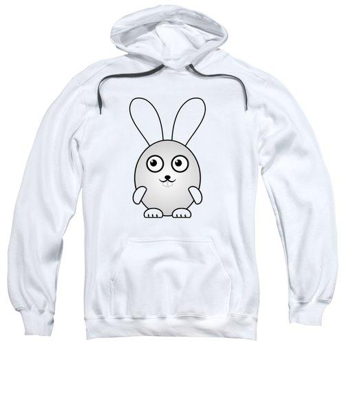 Bunny - Animals - Art For Kids Sweatshirt by Anastasiya Malakhova