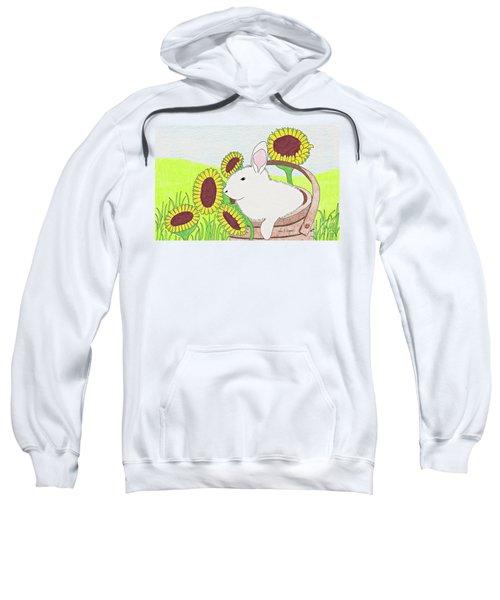 Bunny In A Basket Sweatshirt