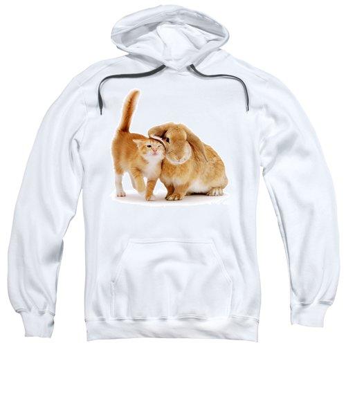 Bunny Rubbing Sweatshirt