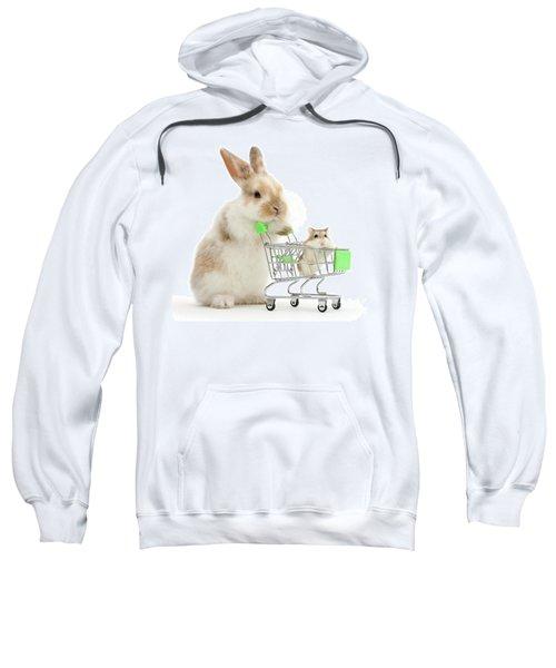 Bunny Shopping Sweatshirt