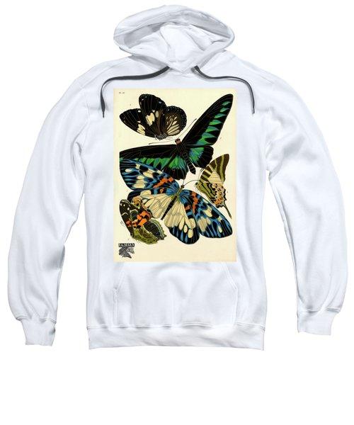 Butterflies, Plate-10 Sweatshirt