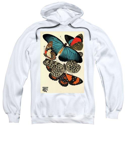 Butterflies, Plate-11 Sweatshirt