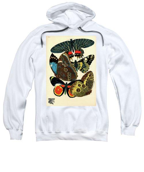 Butterflies, Plate-2 Sweatshirt