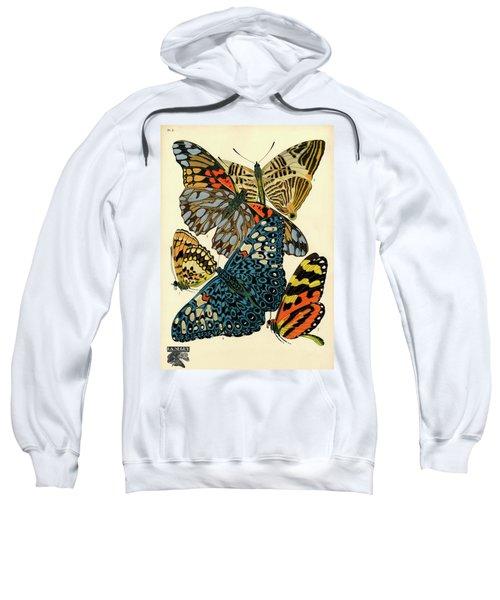 Butterflies, Plate-3  Sweatshirt