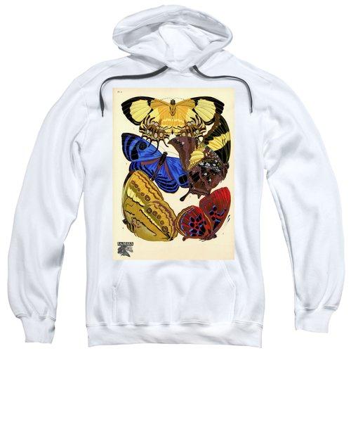 Butterflies, Plate-4  Sweatshirt
