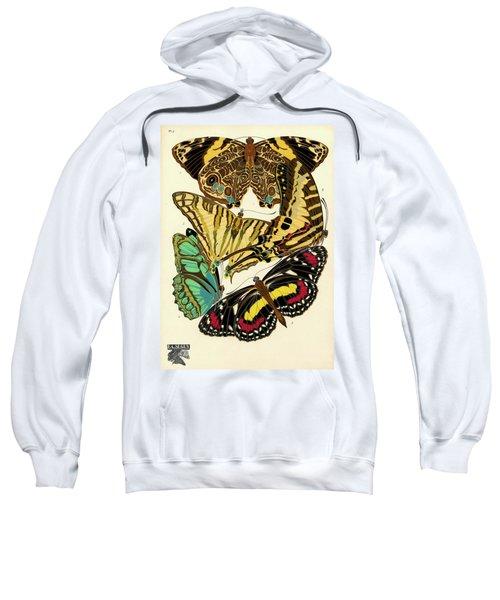 Butterflies, Plate-5 Sweatshirt
