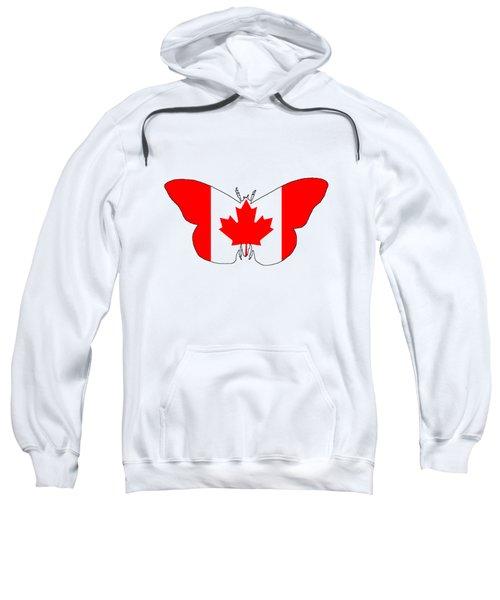Butterfly Canada  Sweatshirt