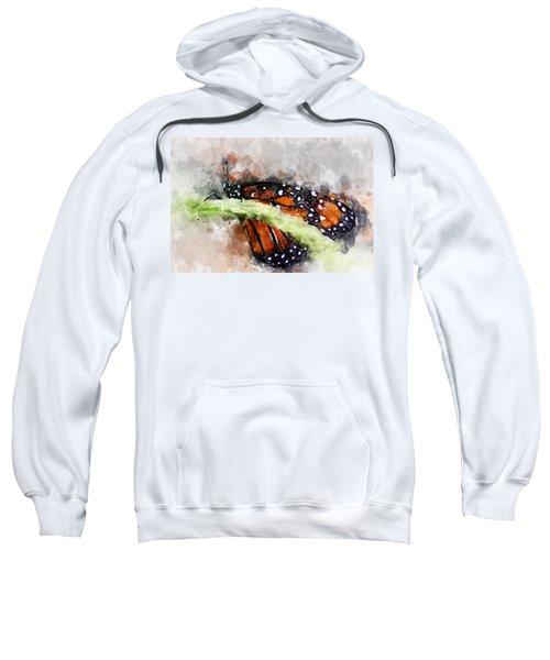 Butterfly Watercolor Sweatshirt