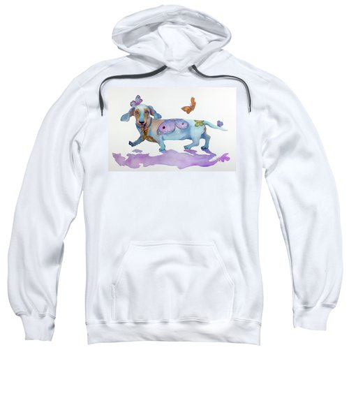 Butterfly Doxie Doo Sweatshirt